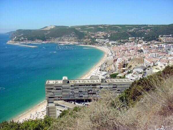 Fishing village and beach in Sesimbra